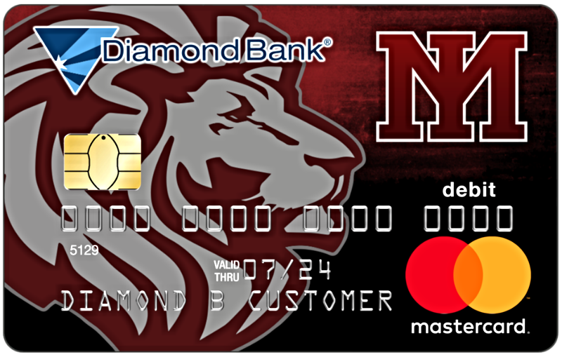 mount ida lions mascot debit card