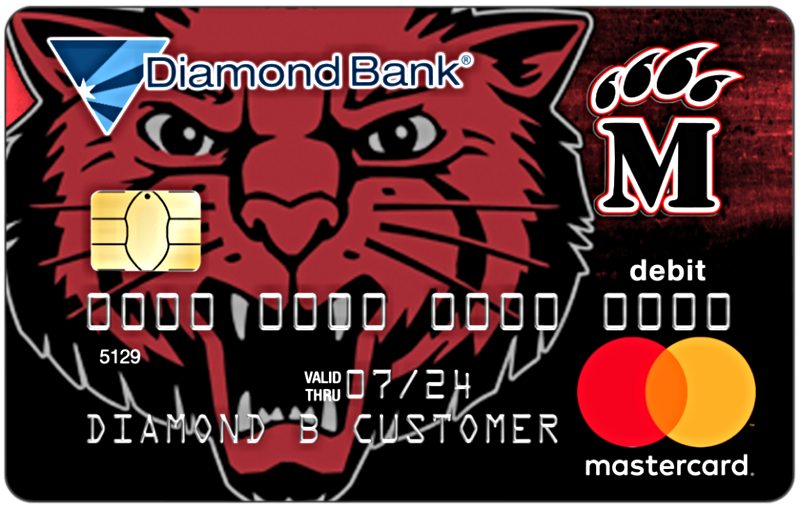 Mena Bearcats Debit Card