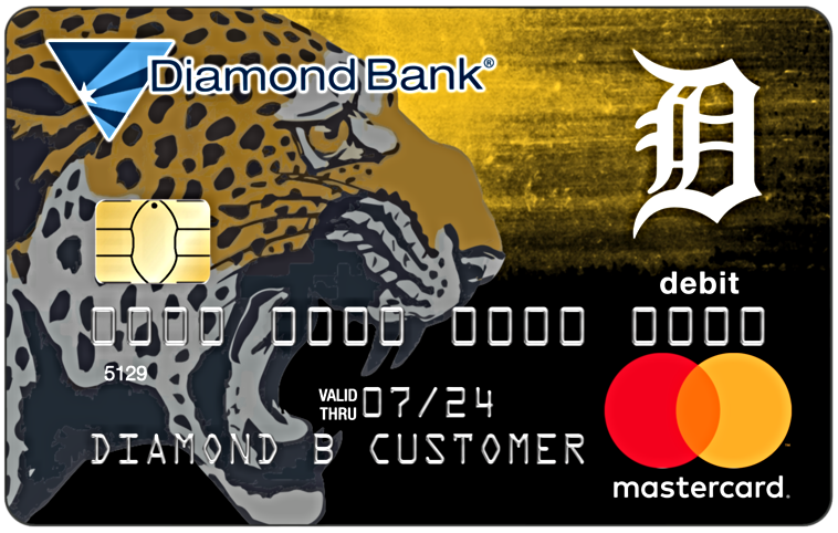 DeQueen Leopards Debit Card